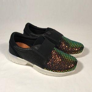 Bernie Mev Comfort Slip on Sneakers Women 37, New